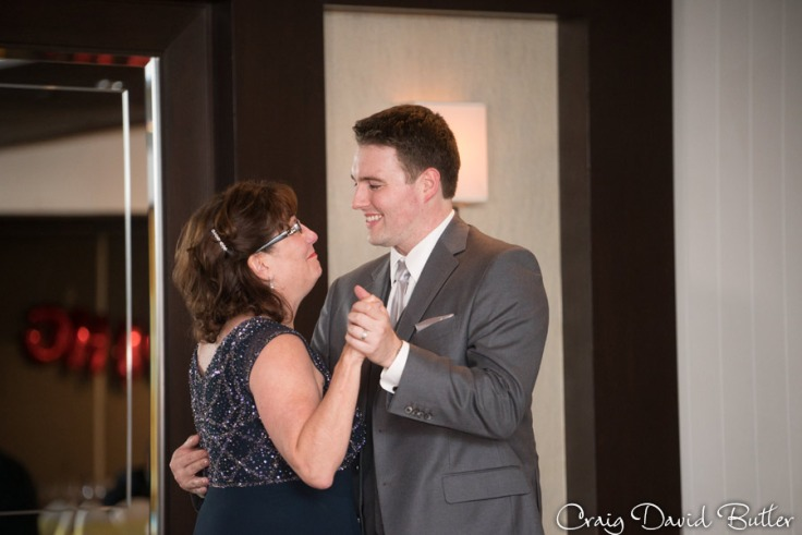 Mother son dance at Weber's Inn in Ann Arbor by Craig David Butler