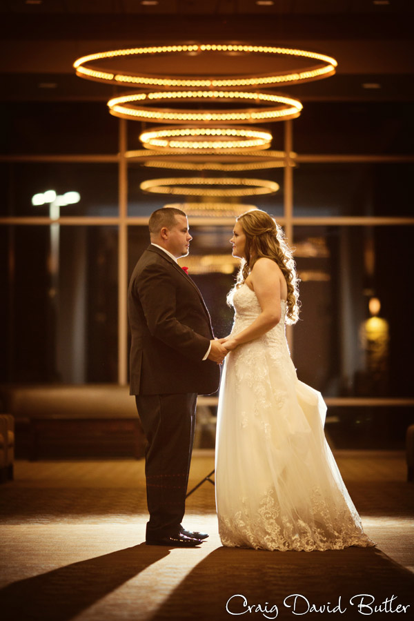 Bride & Groom Portrait at the Diamond Center in Novi MI