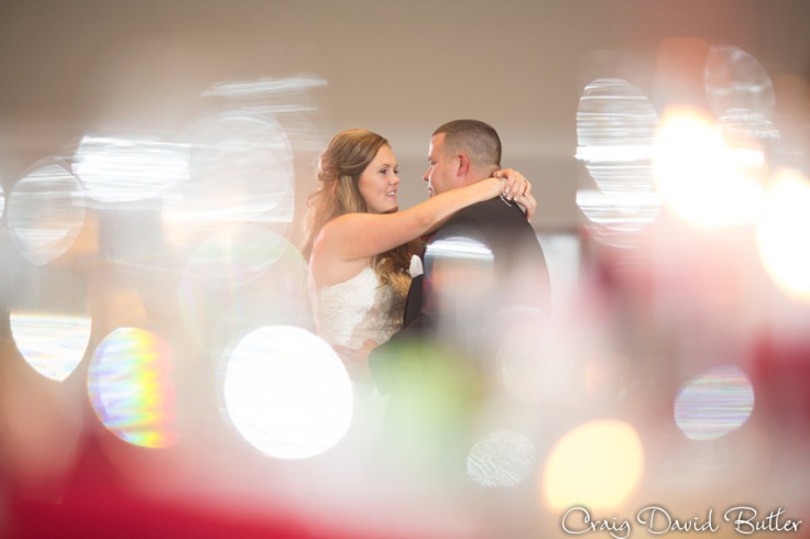 Bride and Groom's First Dance at the Diamond Center in Novi MI