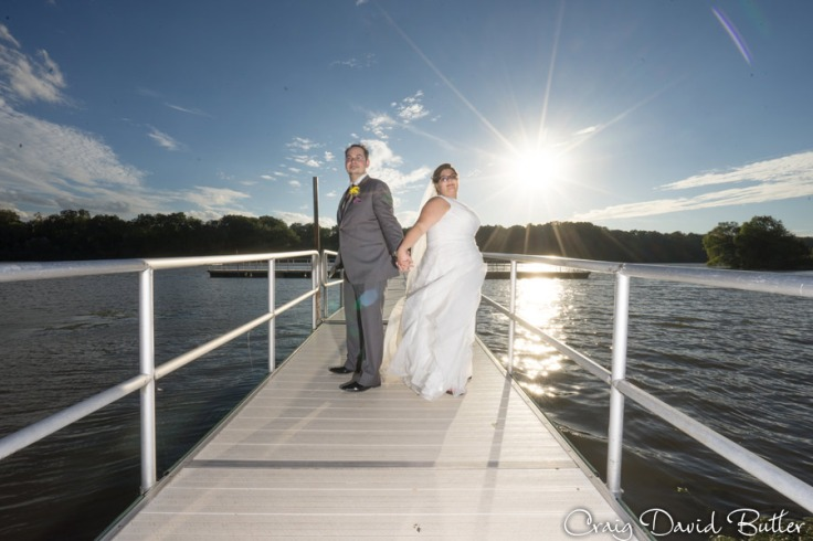 Bride & groom portraits in Hines Park Plymouth MI