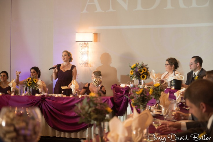 Maid of Honor Speech at Laurel Manor in Livonia MI