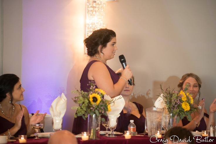 Maid of Honor Speech in Laurel Manor by Craig David Butler