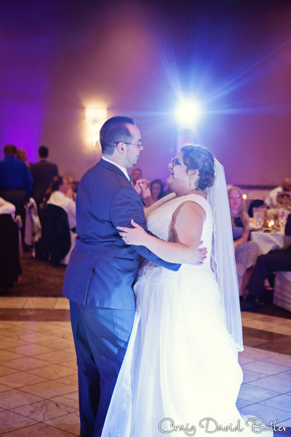 Bride and Grooms First Dance at Laurel Manor in Livonia MI