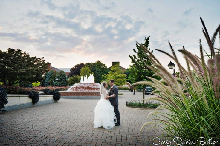 Portrait of Chelsea and Jake at the Entrance to Greenfield Village