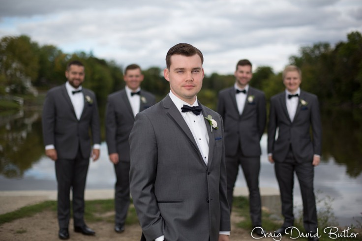 Groom and his Groomsmen portrait