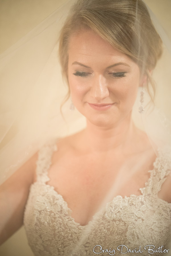 Portrait of Bride in the Bridal suite in Dearborn MI