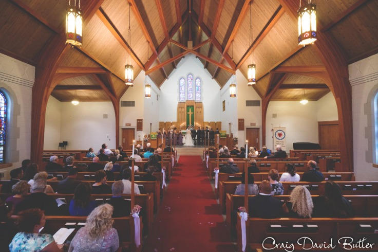 Wedding Ceremony at Emmanuel Lutheran Church Dearborn MI