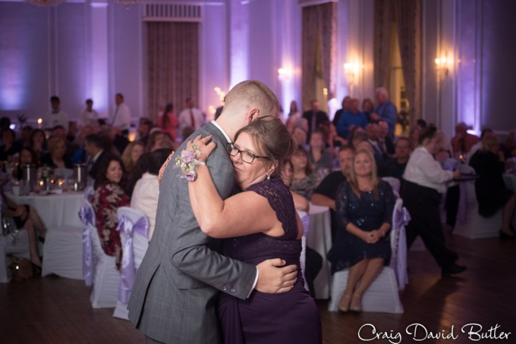 Mother Son Dance at the Meeting House Grand Ballroom in Plymouth MI