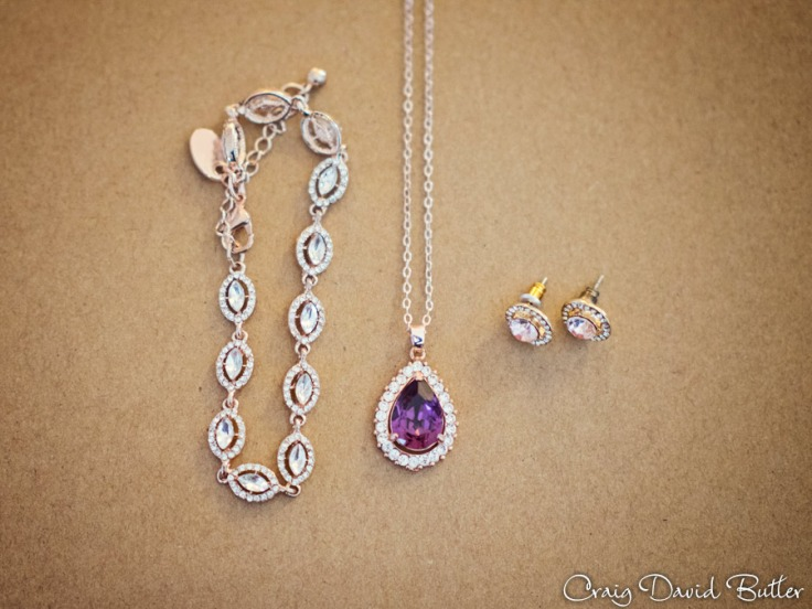 Detail photo of Bride's Jewelry by Craig David Butler