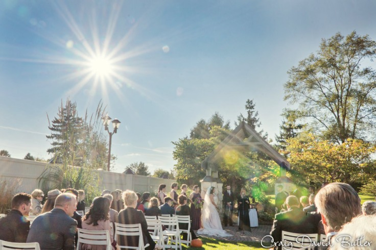 Ceremony at Glen Oaks in Farmington MI by Craig David Butler