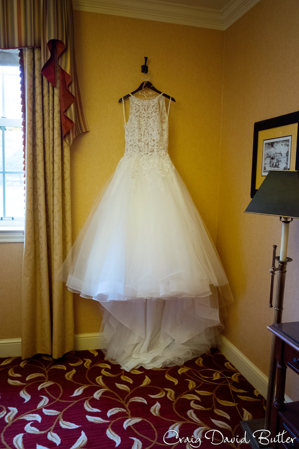 Brides gown photo