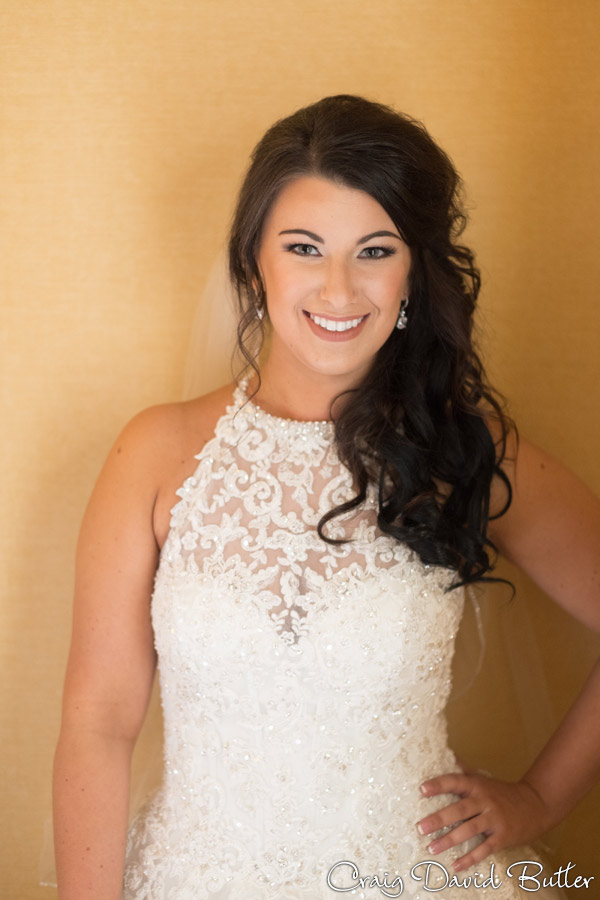 Beautiful photo of the bride at the Dearborn Inn