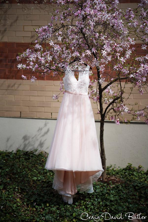Brides gown at the Renaissance Baronette in Novi MI
