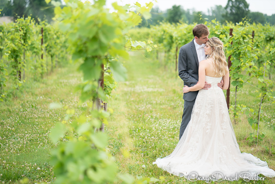 Youngblood winery wedding photos