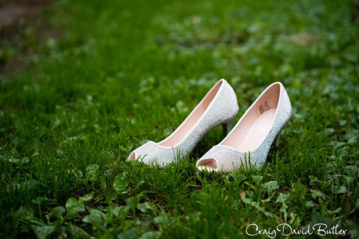 Brides Shoes, Detail Photo, Milford MI