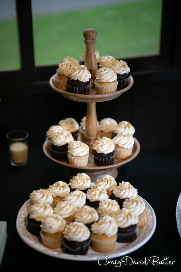 Dessert Cupcakes wedding reception