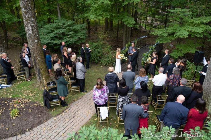 Turner homestead wedding photo in Milford michigan