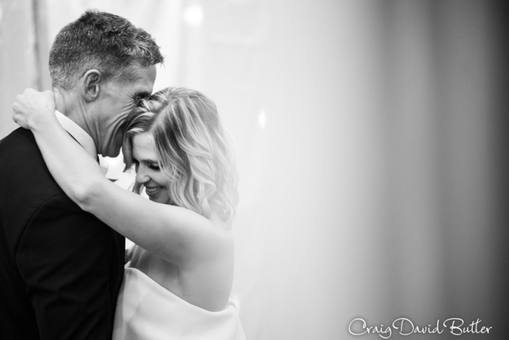 Beautiful photo of the bride and groom
