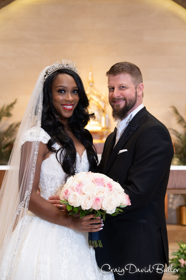 Traditional Photo of Bride and Groom