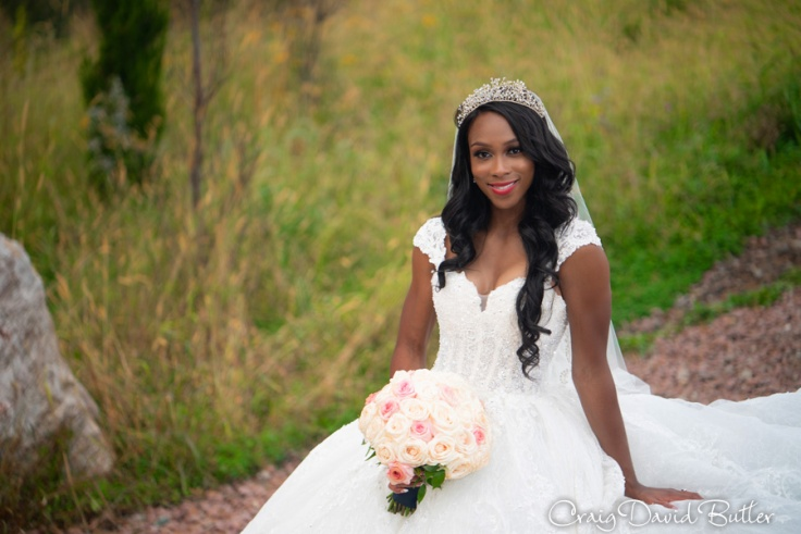 Beautiful photo of Bride on her wedding day